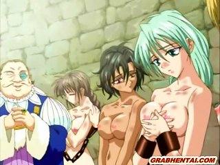 Chained Hentai Slave Gets Licked Her Wetpussy